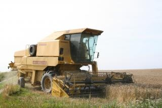 cosechadora, el vehículo