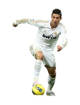 Cristiano Ronaldo del Real Madrid La Liga