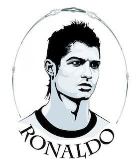Cristiano ronaldo retrato