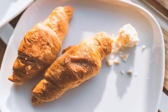 Croissants para el desayuno