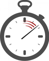 cronómetro (sin sombreado)
