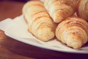 Cruasanes deliciosos para desayunar