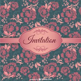 Cubierta elegante de invitación