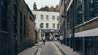 Curva en la calle