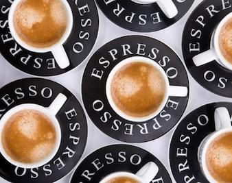 Da a la calidad de la imagen del café de material de fondo