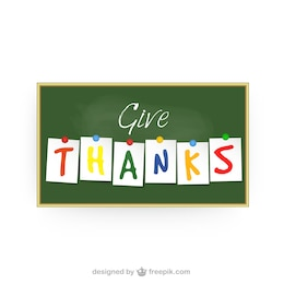Da las gracias
