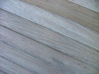 De madera en ángulo