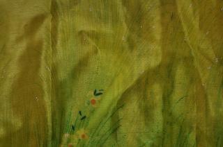 de seda verde