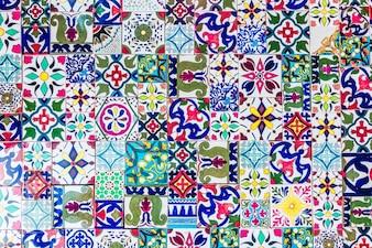 Decoración de la mezquita de la ciudad de ornamento árabe