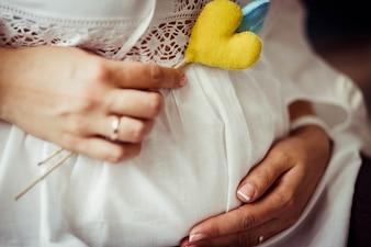 Dedos de encaje maravilloso amor el hogar