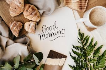Desayuno de buenos días