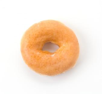 Desayuno donut espolvorea dieta tratar