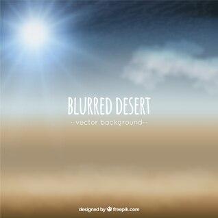 Desierto borroso