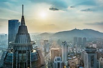 Destinos famoso centro financiero de Hollywood