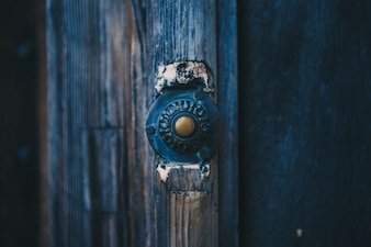 Detalle en la puerta