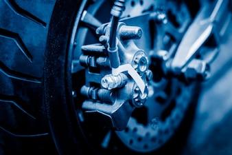 Detalle de la foto de la rueda