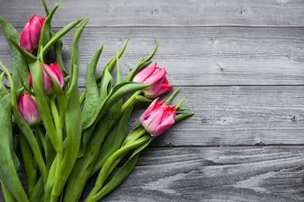 Día de la madre flor de la primavera blanco