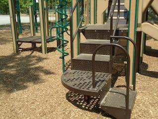 diapositiva pasos de escaleras parque parque