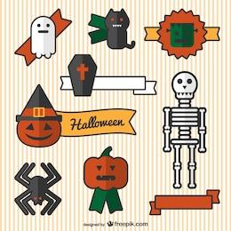Dibujos de adornos de Halloween