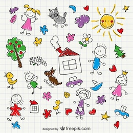 Dibujos de niños