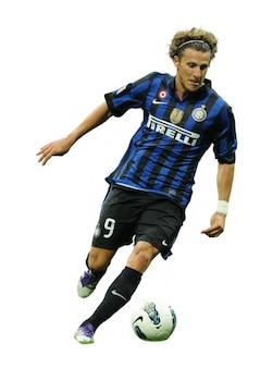 Diego Forlán Inter de Milán Serie A