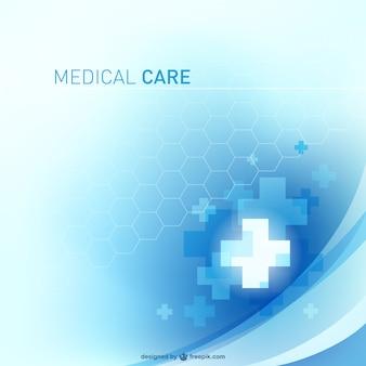 Diseño abstracto de atención sanitaria