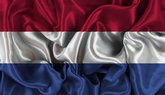 Diseño de bandera de holanda