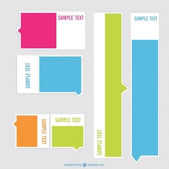 Diseño de etiquetas minimalistas