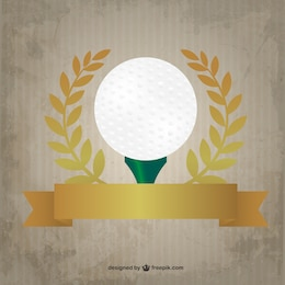 Diseño premium de golf