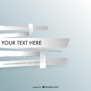 Diseño trozos de papel