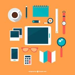 Diseños planos gratuitos para oficina