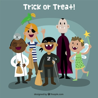 Disfraz de Halloween los niños