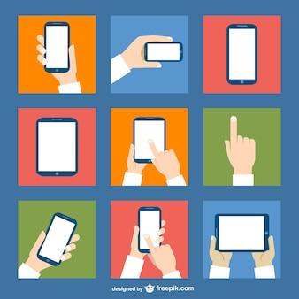 Dispositivos de pantalla táctil