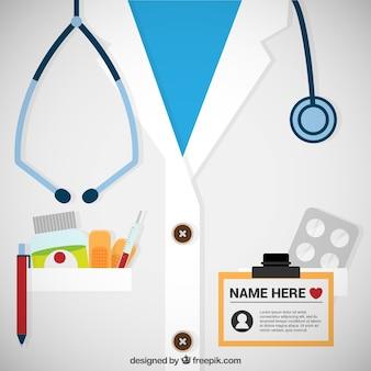 Plantilla de tarjeta de médico