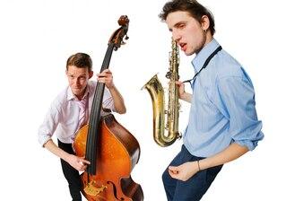 Dos músicos cool