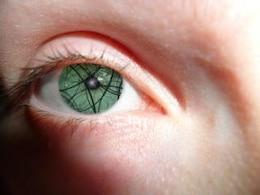 dos ojos, la cara