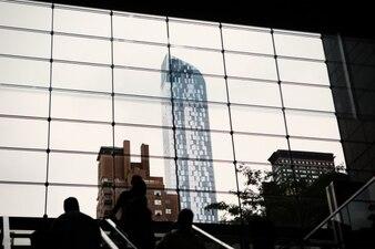 Edificios grandes de la ciudad