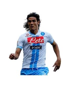 Edinson Cavani Napoli Serie A