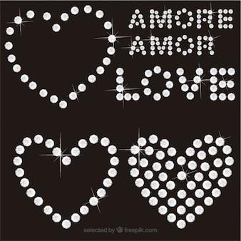 El amor con diamantes