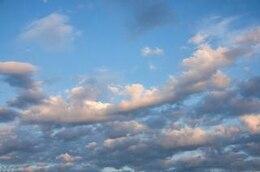 el cielo de fondo horizontal