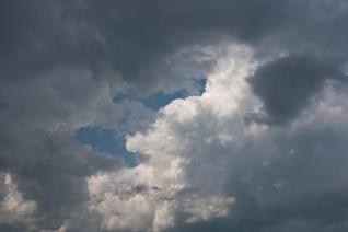 el cielo del paisaje del tiempo