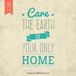 El cuidado de la tierra