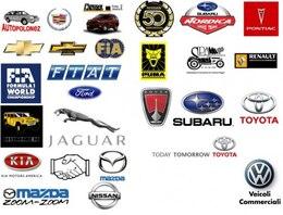 el famoso logotipo de material de vectores
