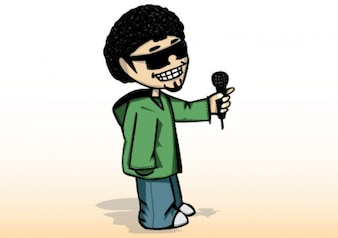 el hombre hip hop