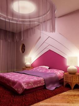 el tono cálido color púrpura sala de material de imagen