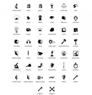 Elegante paquete de vectores ilustrador mixta