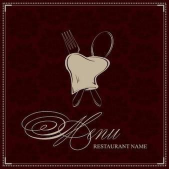 Elegante restaurante del paquete de vectores logo deluxe
