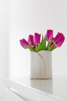 Elegantes aman la flora natural de la floración