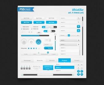 elementos de interfaz de usuario web pac