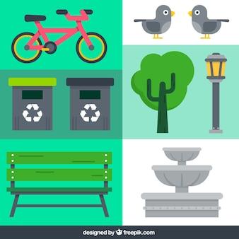 Elementos de parque